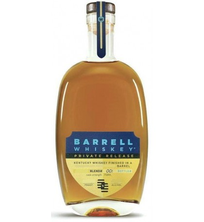 Barrell Private Release Oloroso Sherry Barrel Finish Kentucky Straight Whiskey
