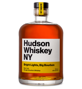 Hudson Whiskey Bright Lights Big Bourbon Straight Bourbon