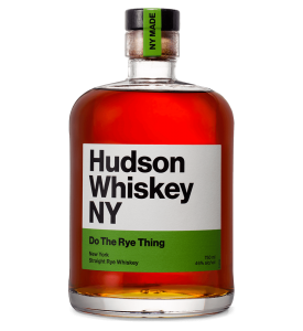 Hudson Whiskey Do the Rye Thing Straight Rye