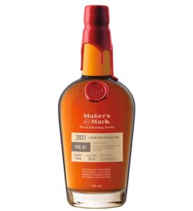 Maker's Mark FAE-01 Wood Finishing Series Limited Release Kentucky Straight Bourbon