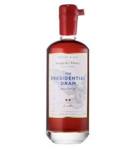 The Presidential Dram 8 Year Old Single Barrel Straight Rye 53.55% ABV