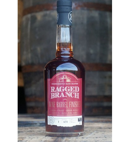 Ragged Branch Wine Barrel Finished Virginia Straight Bourbon