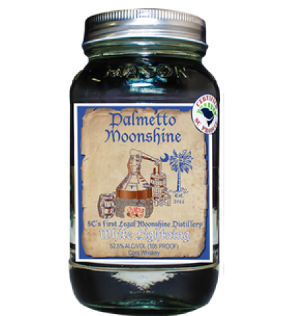 Palmetto Moonshine White Lightning
