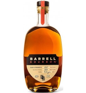 Barrell Batch 015 Cask Strength Straight Bourbon