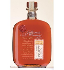 Jefferson's Presidential Select 17 Year Old Bourbon