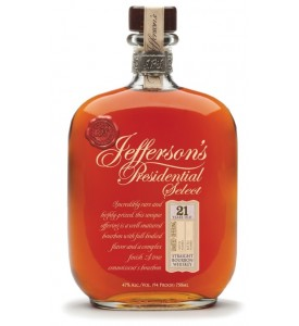 Jefferson's Presidential Select 17 Year Old Bourbon, Batch 7