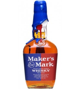 Maker's Mark Rock The Vote Red, White & Blue Wax Seal Kentucky Straight Bourbon