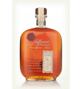 Jefferson's Presidential Select 18 Year Old Bourbon, Batch 15
