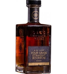 A.D Laws Four Grain Straight Bourbon