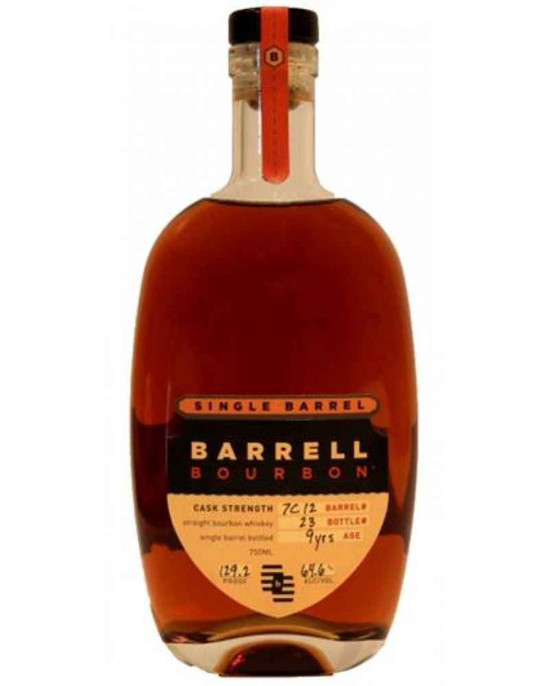 barrell bourbon single barrel cask strength 9 year
