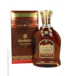 Ararat Vaspourakan 15 Year Old Brandy