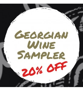 12 Bottle Mixed Georgian Wine Sampler