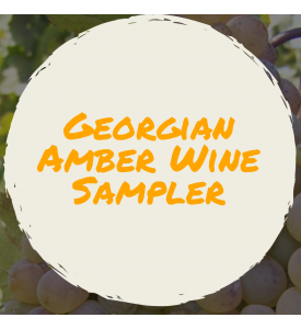 6 Bottle Mixed Georgian Amber Wine Sampler
