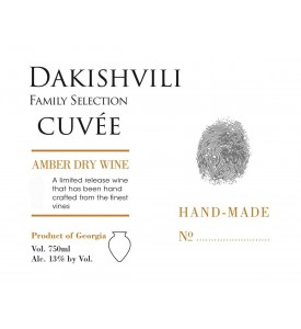 Dakishvili Family Selection Cuvee Amber 2016