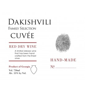 Dakishvili Family Selection Cuvee Red 2017
