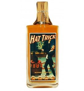 High Wire Distilling Co. Hat Trick Barrel Rested Gin