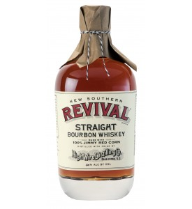 High Wire Distilling Co. New Southern Revival Jimmy Red Corn Single Barrel Straight Bourbon Selected by Jack Rose Dining Saloon