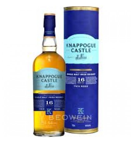 Knappogue Castle Twin Wood Sherry Finish 16 Year Old Single Malt Irish Whiskey