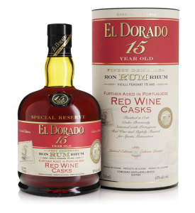 El Dorado Special Reserve Red Wine Casks 15 Year Old Rum