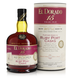 El Dorado Special Reserve Ruby Port Casks 15 Year Old Rum