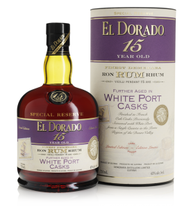 El Dorado Special Reserve White Port Casks 15 Year Old Rum