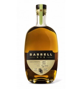Barrell Batch 001 Cask Strength Rye