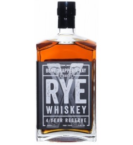 Bone Snapper X-Ray 4 Year Reserve Straight Rye Whiskey