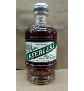Peerless Single Barrel Straight Rye Whiskey