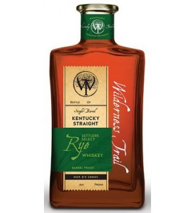 Wilderness Trail Single Barrel Cask Strength Kentucky Straight Rye Selected By Potomac Wines and Spirits