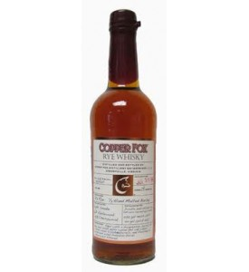 Copper Fox Rye Whisky