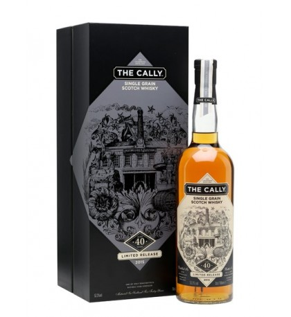 1974 Caledonian Distillery The Cally 40 Year Single Grain Scotch 2015 Release