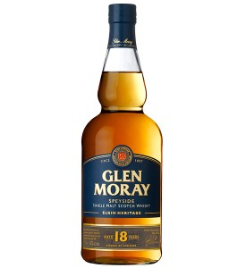 Glen Moray 18 Year Single Malt Scotch