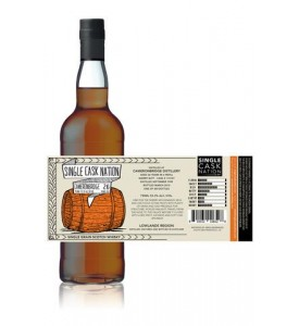 Single Cask Nation Cameronbridge 26 Year Old Single Malt