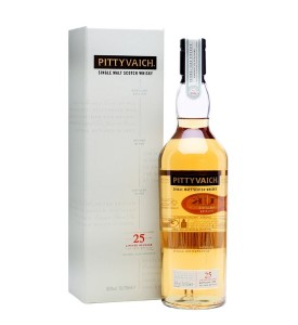 1989 Pittyvaich 25 year 2015 Release