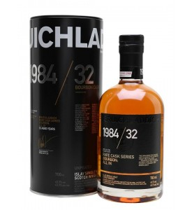 1984 Bruichladdich Rare Cask Series Bourbon: All In 32 Year Old