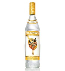 Stolichnaya Sticki Honey Vodka