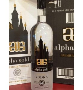 Alpha Gold Premium Vodka
