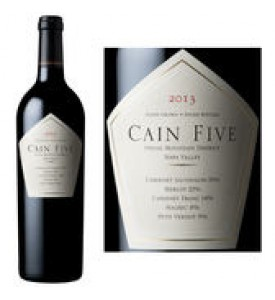 Cain Five Red Blend 2013