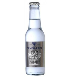 Fever Tree Club Soda 4 Pack