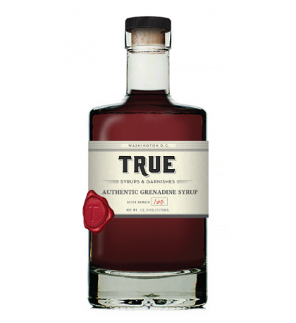 True Authentic Grenadine Syrup