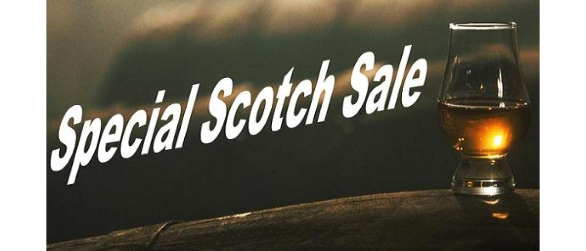 Check out our Fine & Rare Scotch Sale! - Limited Supply