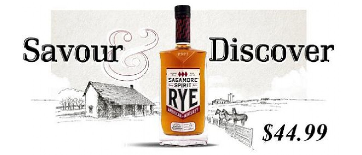 Discover Sagamore Rye Whiskey!
