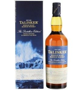 Talisker Distillers Edition Double Matured Amoroso Sherry Cask Wood Single Malt Scotch Whisky