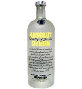 Absolut Citron Vodka